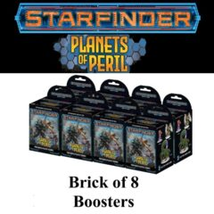 Starfinder Miniatures: Planets Of Peril Brick Of 8 Boosters