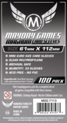 Mayday - Magnum Card Sleeves 61Mm X 112Mm 100Ct