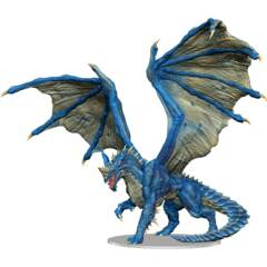 DUNGEONS & DRAGONS 5  -  ICONS OF THE REALMS  -  ADULT BLUE DRAGON