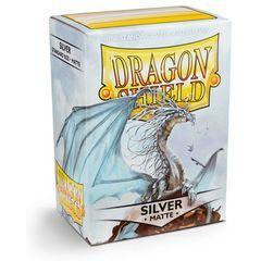 DRAGON SHIELD: SILVER MATTE