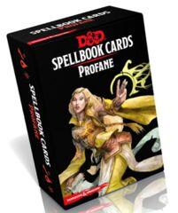 D&D - 5TH EDITION -  SPELLBOOK CARDS - PROFANE - FRANÇAIS