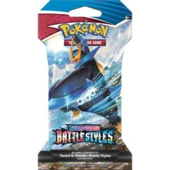 SLEEVED BOOSTER PACK SWORD & SHIELD - BATTLE STYLES - ENGLISH