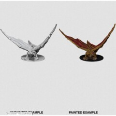 Nolzur's Marvelous Miniatures - Young Brass Dragon