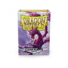 DRAGON SHIELD: CLEAR PURPLE MATTE