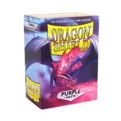 Dragon Shield Sleeves: Matte Purple (Box of 100)