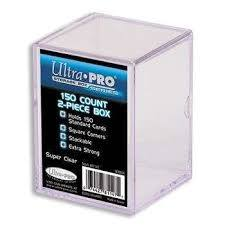 Ultra Pro 150 ct Storage Box- Clear
