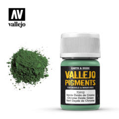 73112 Chrome Oxide Green,Vallejo Pigments Val73112