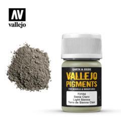 73104 Light Sienna, Vallejo Pigments Val73104