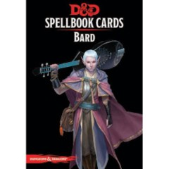 5672 Dungeons And Dragons: Updated Spellbook Cards - Bard Deck