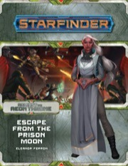 New 7208 Starfinder Adventure Path Escape from the Prison Moon (Aeon Throne 2 of 3)