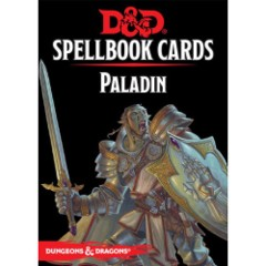 5664 Dungeons And Dragons: Updated Spellbook Cards - Paladin Deck