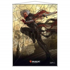 New 18176 Magic: The Gathering - Stained Glass Wall Scroll (26.8