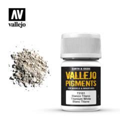 73101 Titanium White, Vallejo Pigment Val73101