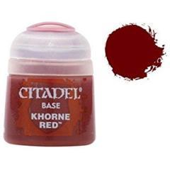 307-2104 Base: Khorne Red