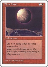 Blood Moon - Border Extension - Art Altered