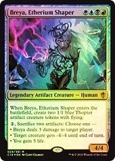 Breya, Etherium Shaper - Foil Peel