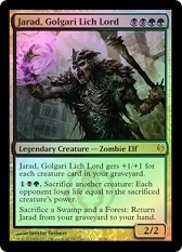 Jarad, Golgari Lich Lord - Art Altered - DD: Izzet vs Golgari