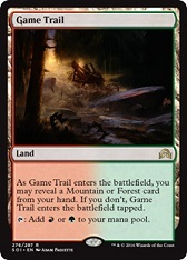 Game Trail - German