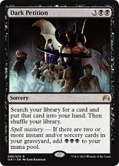 Dark Petition - Foil French