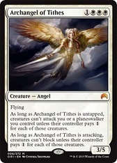 Archangel of Tithes - Japanese