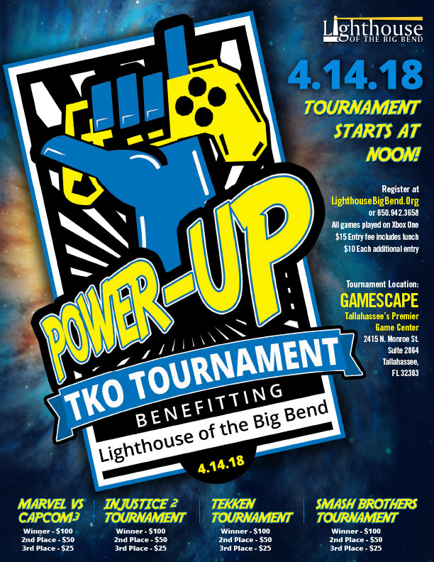 (Required) Power-Up TKO Tournament Entry