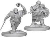 Nolzur's Marvelous Miniatures - Dwarf Female Fighter
