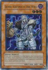 Broww, Huntsman of Dark World - EEN-EN021 - Ultimate Rare - Unlimited Edition