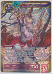 Athena, Titan of Revenge - TMS-018 - SR - Full Art
