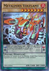 Metalfoes Volflame - OP04-EN004 - Super Rare - Unlimited Edition
