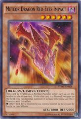 Meteor Dragon Red-Eyes Impact - INOV-EN028 - Rare - Unlimited Edition