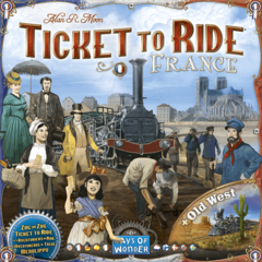 Ticket to Ride Map Collection Volume 6: France & Old West