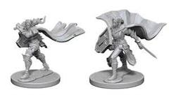 Pathfinder Battles Unpainted Minis - Elf Female Paladin