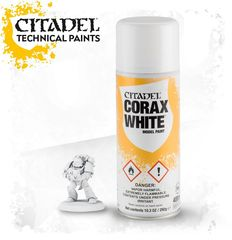 Corax White Model Paint