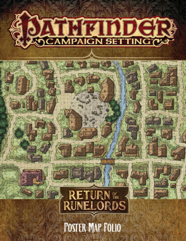 Pathfinder: Return of the Runelords Map Folio