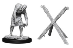 Pathfinder Battles Unpainted Minis - Assistant and Torture Cross