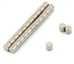 3mm x 3mm Small Round Magnets (50 Pack)