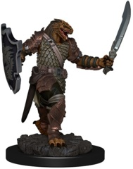 ICONS OF THE REALMS PREMIUM MINIATURES - FEMALE DRAGONBORN PALADIN
