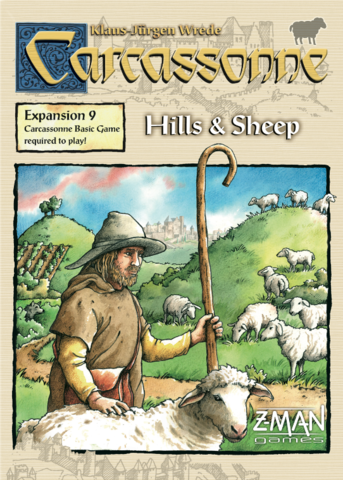 Carcassonne: Expansion Hills & Sheep