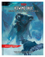 Icewind Dale: Rime of the Frostmaiden (Regular Cover)