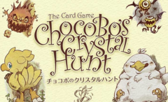 Chocobos Crystal Hunt Card Game