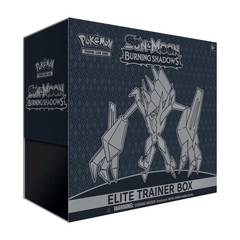 Pokemon Sun & Moon: Burning Shadows Elite Trainer Box