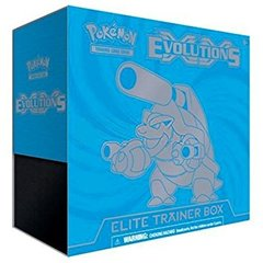 XY Evolutions Elite Trainer Box - Mega Blastoise