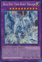 Blue-Eyes Twin Burst Dragon - SHVI-EN099 - Secret Rare - Unlimited Edition
