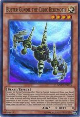 Buster Gundil the Cubic Behemoth - MVP1-EN035 - Ultra Rare - Unlimited Edition