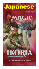 Ikoria: Lair of Behemoths Booster Pack - JAPANESE