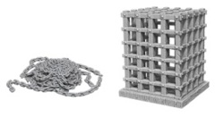 Pathfinder Battles Unpainted Minis - Cage and Chains