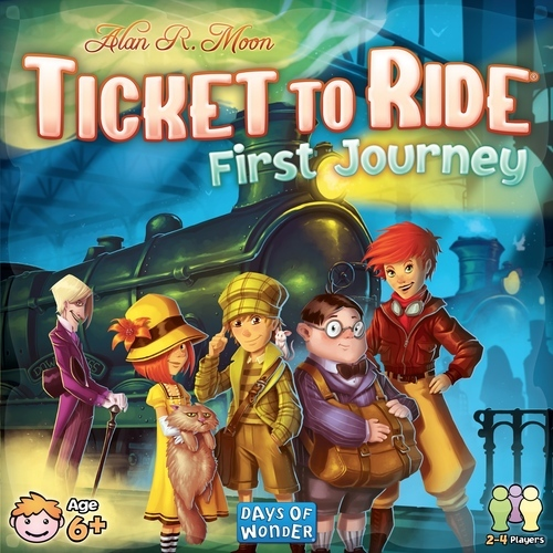 Ticket To Ride: My First Journey