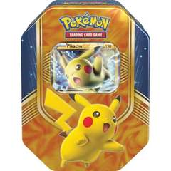 Battle Heart Tin - Pikachu EX
