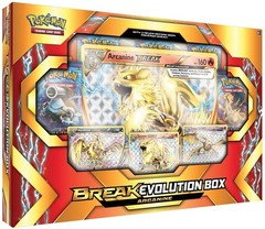 Arcanine BREAK Evolution Box