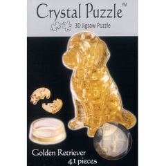 Crystal Puzzle: Golden Retriever